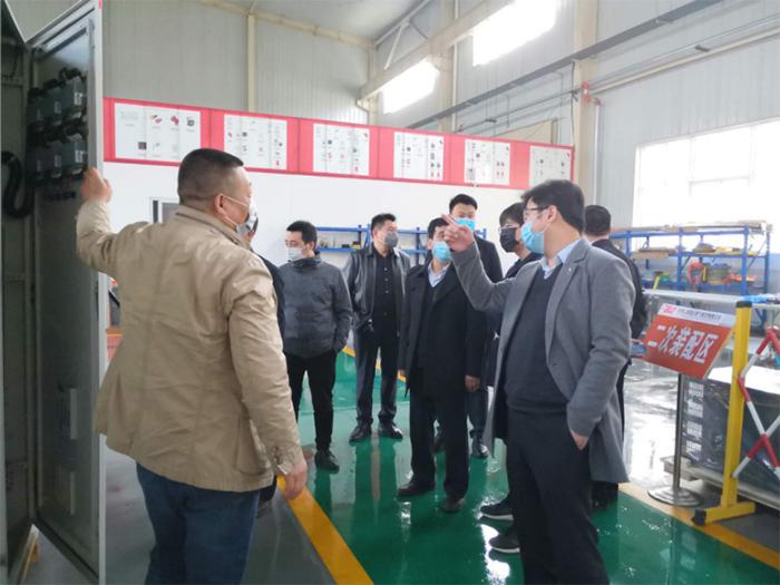 陕西安装集团客户来众利联合公司参观考察
