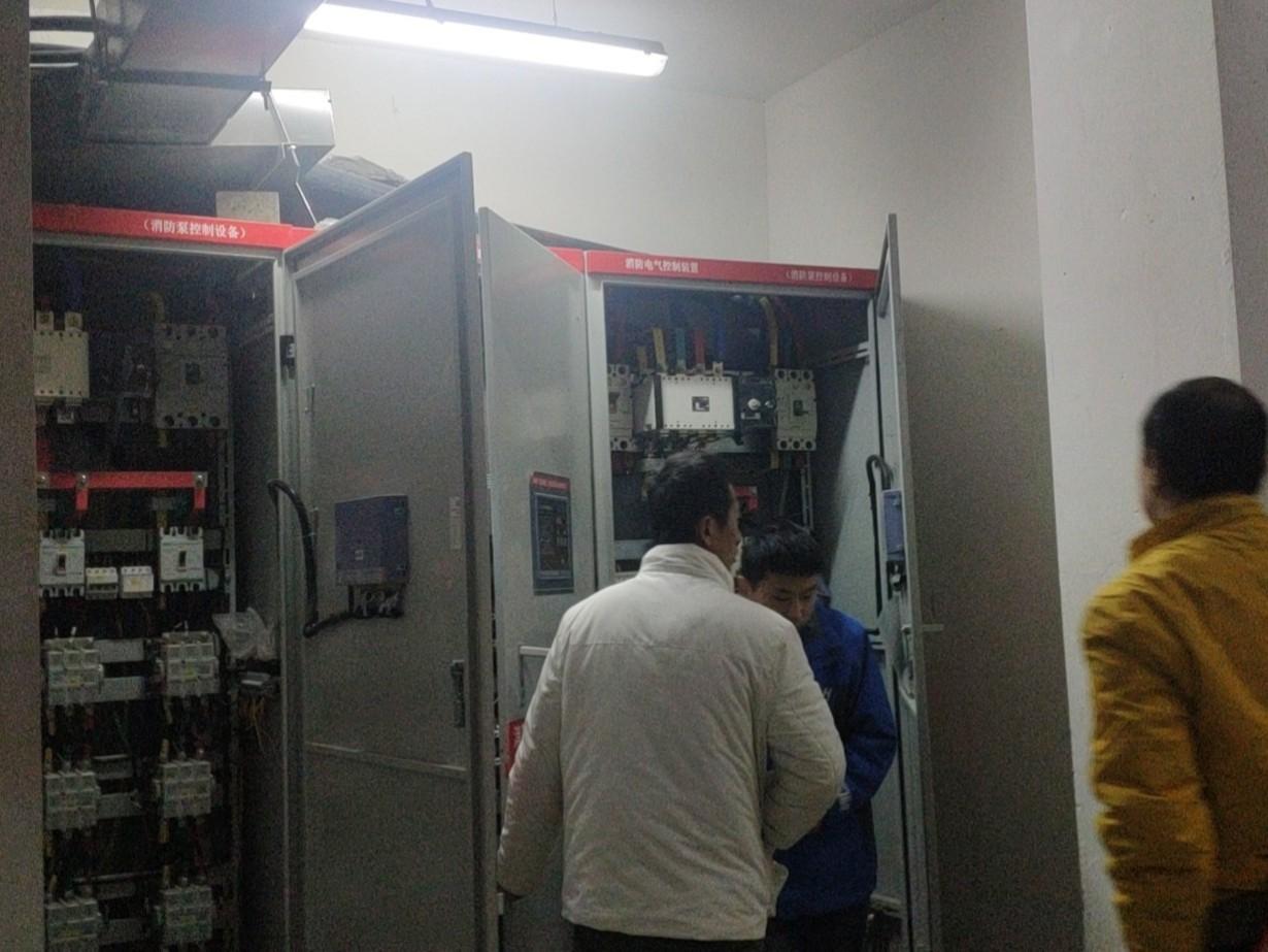 高新区水木华院消防巡检柜及成套控制柜