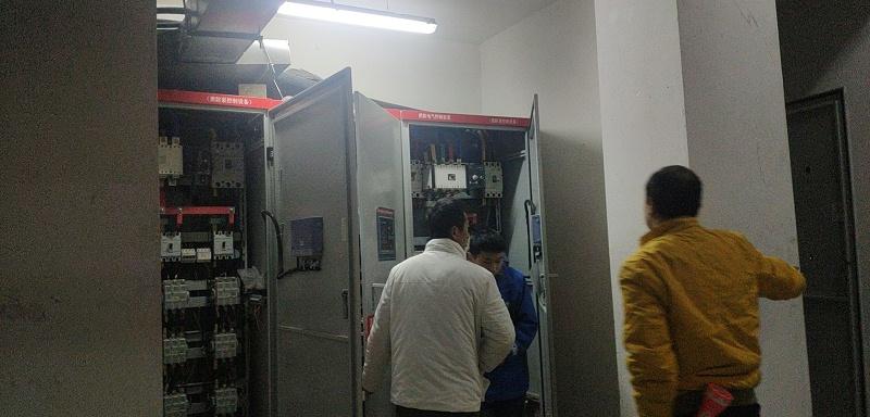 水木华苑消防巡检柜及成套控制柜1