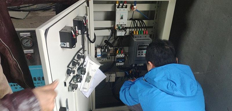 天王村自来水用控制柜1
