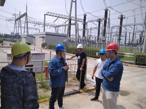 众利联合 | 三原池阳变电站消防巡检柜使用案例